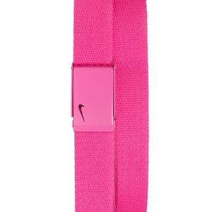 Nike One Size Adjustable Pink Golf Belt NWT.